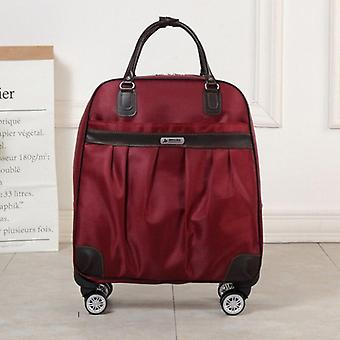 Trolley Luggage Rolling Suitcase Marchio Casual Stripes Rolling Case Travel Bag