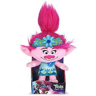 """Trolls World Tour Movie 25cm (10"""") Poppy Soft Plush Toy"""