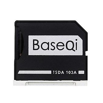 BASEQI Hidden Aluminum Alloy SD Card Case for MacBook Air 13.3 pouces Ordinateurs portables