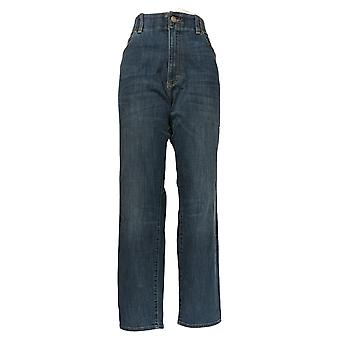 Lee Men's Straight Jeans 38x32 Classic Pocketed Blue