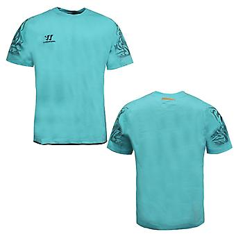 Warrior TRG Lyhythihainen Miesten T-paita Rento Yläosa Sinivihreä WSTM250 BEN P1E