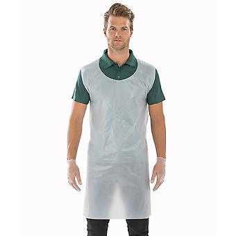 Result Essential Hygiene Unisex Adult Disposable Apron (Pack of 100)