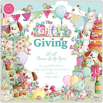 Craft Consortium The Gift of Giving 12x12 Inch Paper Pad