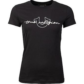 True Religion Script Logo T-Shirt