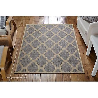 Enrejado de moda gris alfombra
