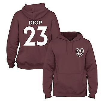 عيسى ديوب 23 لاعب وست هام ستايل كرة القدم هوديي