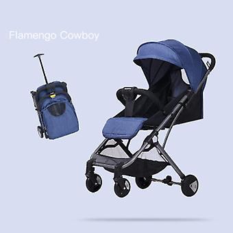Ultralight Portable High Landscape Folding Stroller