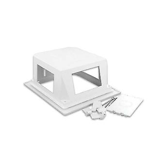 Leviton Reb Recessed Entertainment Box With Low Profile Frame