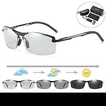 Men's Driving Day Night Vision Polarisierte Sonnenbrille