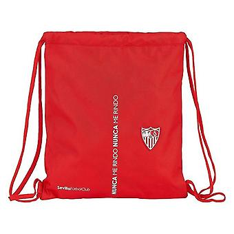 Backpack with strings sevilla fútbol club red