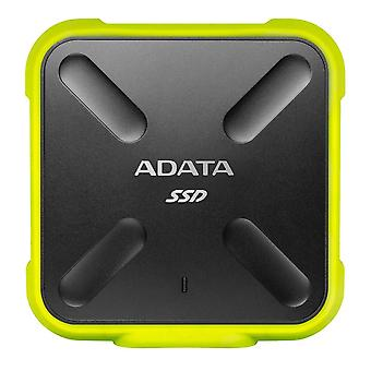 Adata sd700 256gb ανθεκτική εξωτερική κίνηση στερεάς κατάστασης 3d nand, ip68 dustproof αδιάβροχο, στρατιωτικός-gr wof14377