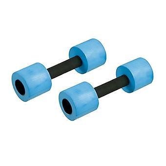 SwimExpert Aqua Dumbbells - Blue-Small
