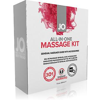 Jo All in One White Massage Kit