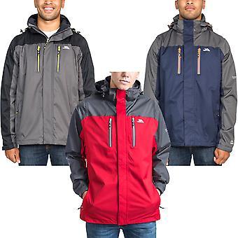 Trespass Mens Wooster Outdoor Walking Hiking Waterproof Hooded Jacket Coat