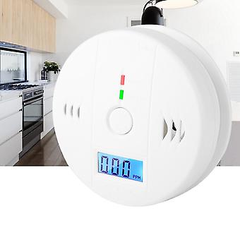 Carbon Monoxide Alarm Lcd Co Smoke Intelligent Sensor Poisoning Gas Warning