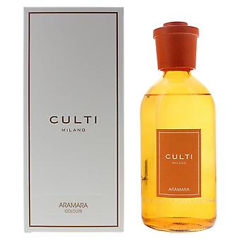 Culti Milano Colours Diffuser 500ml - Aramara - Sticks Not Included In The Box
