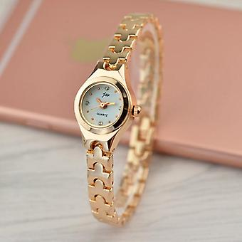 Waterproof Rose Gold Lady Quartz Casual Crystal Ladies Wrist Watches