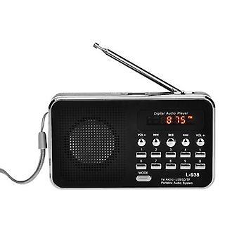 L-938 مصغرة المحمولة راديو FM الرقمية