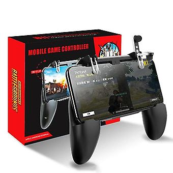 Pubg mobile gaming pad controller with trigger aim button, joystick and l1, r1 shooter buttons