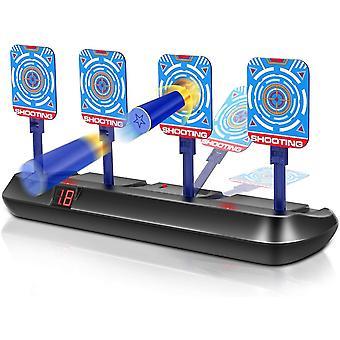 Shooting mål legetøj til kanoner - elektronisk auto reset digital scoring mål med lydeffekt dt6094