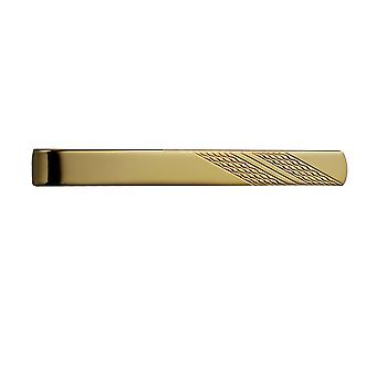 Harde Gold Plated 6x55mm motor draaide Tie Slide