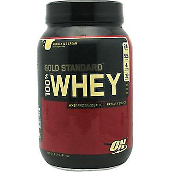 Optimum Nutrition 100% Whey Gold, Vanilla 2.07 lb