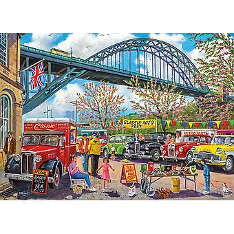 Gibsons Newcastle Jigsaw Puzzle (1000 pièces)