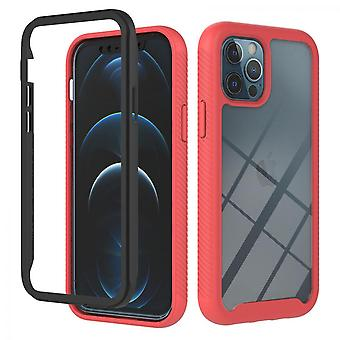 Case For Iphone 12 Pro Max Bumper Cover Full Body Protective Red