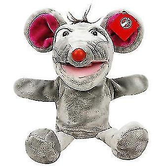Animal full body cartoon juguetes de marionetas de mano, coaxial bebé peluche juguetes, fabricantes creativos