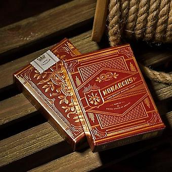 1 PCS Monarch Playing Cards By Theory11 Monarchs Deck Bicycle USPCC Collectible Poker Magic Card