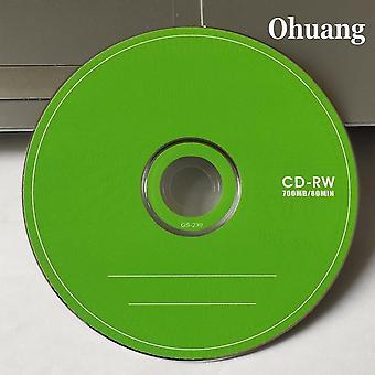 Vihreä tyhjä CD-levy