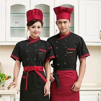Chef Service Jackte Hotel Working Wear Restaurant Work Clothes Tooling Uniform