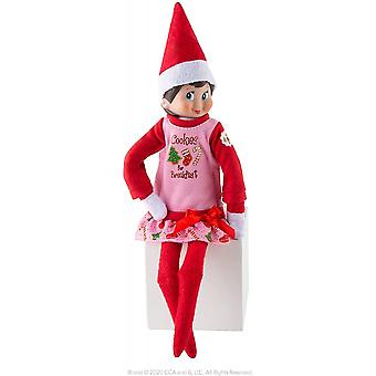 Elf On The Shelf  Claus Couture -Yummy Cookie Nightgown - (Scout Elf Not Included)