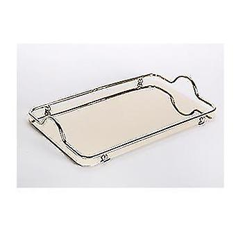 Household storage containers stainless steel tray teapot cup storage tray home kitchen d rectangle|storage trays gold