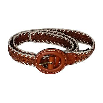Patricia Nash Women's Leather Carsoli Belt Brown A380242