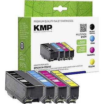 KMP de tinta sustituye Epson T2616, 26 negro Set Compatible, ciánico, Magenta, amarillo E167V 1626,4850