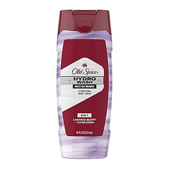 Old spice hydro men's body wash, hardest working smoother swagger, 16 oz