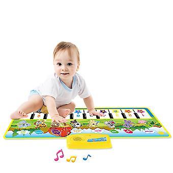 Kids Piano Mat Musical Mat Klávesová hudba Mat Touch Play Dancing Mat Dárkové hračky