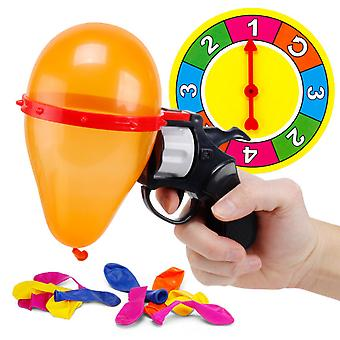 Children's Educational Toys Russian Roulette Balloon Gun Random Toy Tricky Party Game Parent-child Interactive Gift