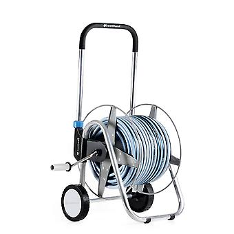 High Quality Wheeled Outdoor Garden Trolley Reel Watering Cart + 25m/50m Hose