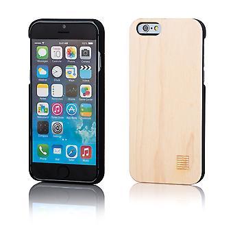 32ª vuelta madera caso para Apple iPhone 6 6S - arce