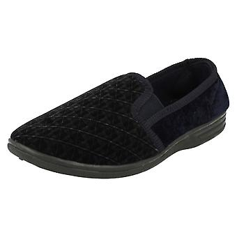 Mens Spot On Quality Slippers MS40