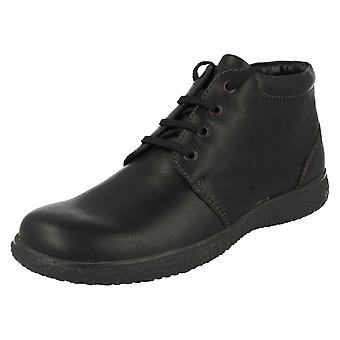 Mens Padders Warmlined Lace Up Ankle Boots Mel