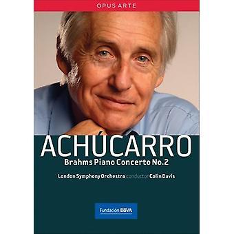 Achucarro: Brahms Piano Concert [DVD] USA import