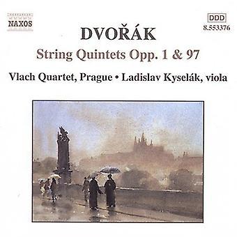 A. Dvorak - Dvorak: String quintettes opus 1 et 97 [CD] USA import