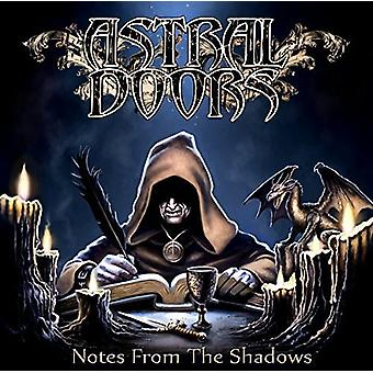 Astral Doors - Notes From the Shadows [CD] USA import