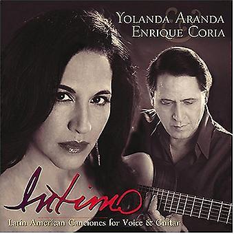 Aranda/Coria - Intimo: Ameryki Łacińskiej Canciones dla importu z USA głos gitara idealna [CD]