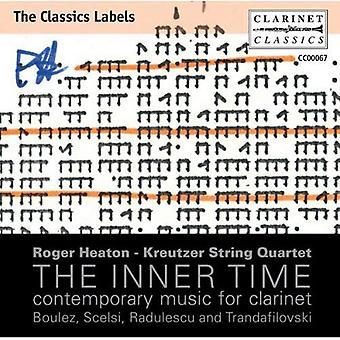 Roger Heaton - The Inner Time: Zeitgenössische Musik für Klarinette [CD] USA import