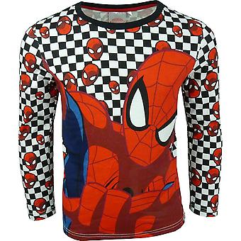 Chicos maravillan manga larga Spiderman \ Top