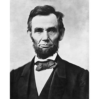 President Abraham Lincoln Portrait 1863 Poster Print by McMahan Photo Archive (8 x 10)